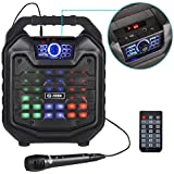 Zoook Rocker Thunder 2 30 watts Karaoke Bluetooth Speaker with Remote & Wired Mic (Black)