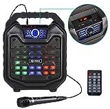 Zoook Rocker Thunder 2 30 watts Karaoke Bluetooth Speaker with Remote & Wired