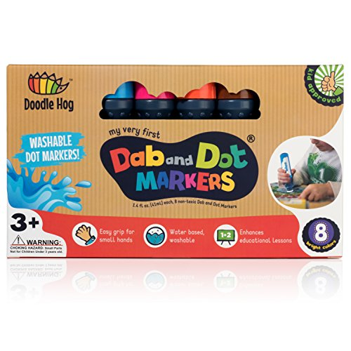 WASHABLE | Dab and Dot Markers |...