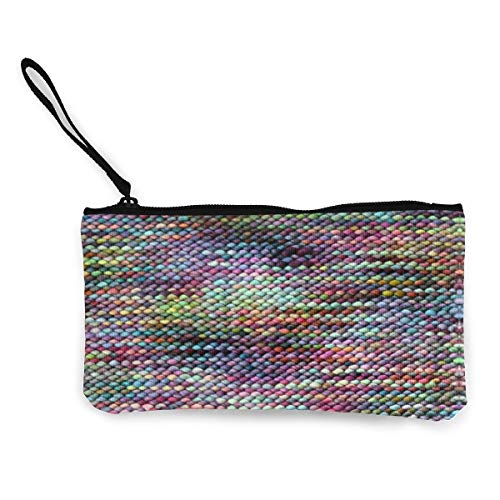 Chicken Boots Purl Multifunctional Portable Canvas Coin Purse Phone Pouch Cosmetic Bag,Zippered Wristlets Bag