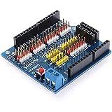 Goliton Capteur Shield V5.0 capteur carte d'extension UNO MEGA R3 V5 pour Arduino blocs de construction électroniques de pièces de robot