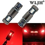 WLJH 194 168 t10 canbus senza errori lampadina W5W 2825 T10 LED sostituzione cuneo lampadina per auto interni Dome mappa porta cortesia luci targa lampada (2pcs, rosso)