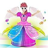 LCLrute LED Haustier elektronische Roboter Mädchen tanzen Prinzessin Multifunktions Musik Puppe (Mehrfarbig)