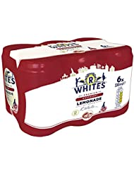 R Whites Premium Raspberry Lemonade Cans, 330ml (Pack of 6)