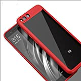 TECHILUV® 100% Original Keziwu Autofocus Series Silicone Protective Cover Shell Transparent Hard Back With Soft Bumper Air Cushion Case/Cover For Xiaomi Redmi Mi Y1 Lite Back Case Cover / Mi Y1lite Back Case Cover / Y1 Lite Case Cover - Color:(Red)