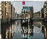 HAMBURG: Original Stürtz-Kalender 2018 - Großformat-Kalender 60 x 48 cm