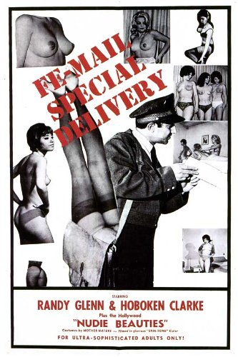 Fe-mail Special Delivery Plakat Movie Poster (27 x 40 Inches - 69cm x 102cm) (1965)