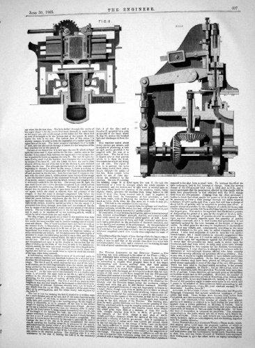 Technik 1865 Verbesserungs-der Schweren Werkzeug-Schiffbau-Arbeit James Fletcher