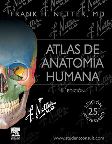 Atlas de anatomía humana por F. H. Netter