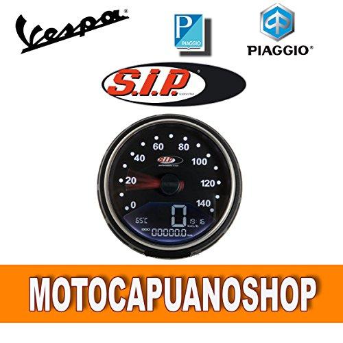 Compteur Sip 2.0 numérique Noir Vespa 50 125 PK s