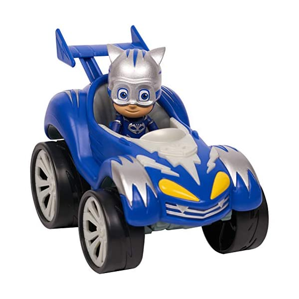 PJ Masks Power Racer Vehicle & Figure - Catboy 3