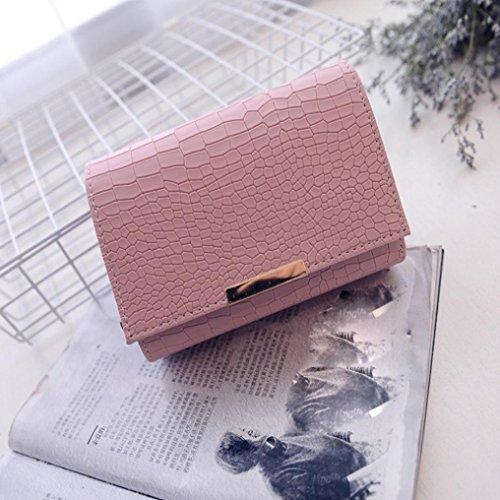BZLine® Mode Frau Crossbody Schulter Taschen Handtasche, 21cm*24cm*13cm Pink