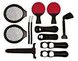 Vierra 12 in 1 Sports TWO PLAYER Accessory Pack for Playstation 3 Move / PS3 Move