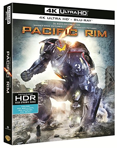 Pacific Rim (Blu-Ray 4K Ultra HD+Blu-Ray) [Blu-ray]