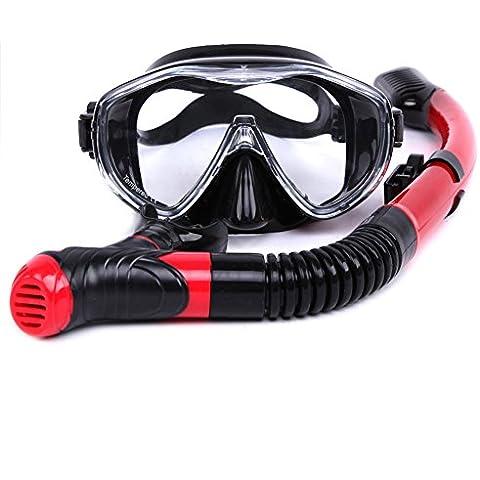 Whale Snorkel Attrezzatura Per Immersioni Maschera e Dry Snorkel