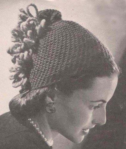 Florentine Skull Cap Hat Beanie Crochet Pattern (English Edition) Crochet Skull Cap Hat