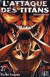 L'Attaque des Titans Edition limitée Tome 27