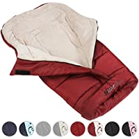 Infantastic Baby Sleeping Bag Winter Footmuff Warmer for Stroller Red