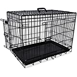 Nobby 62313 Transportkäfig für Hunde Faltbar schwarz 93x62x69 cm