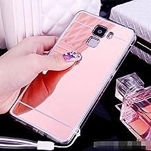 Funda Espejo Silicona Gel Tpu para Huawei Honor 7 / Honor 7 Premium Color Rosado