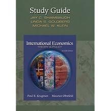 International Economics, Theory And Policy