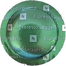 Nespresso Espresso Leggero (1 Box of 50 Capsules) for Commercial Machines
