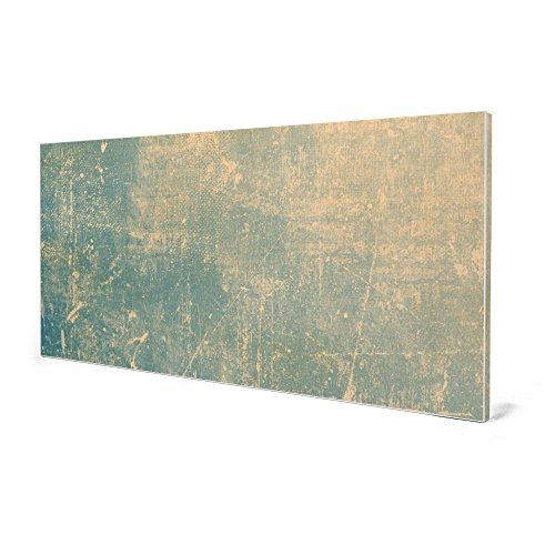 banjado – Pinnwand Magnettafel weiß 78cm x 37cm quer mit Motiv Patina Grün - 4