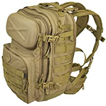 Peligro 4 mochila Patrol paquete Marrón Coyote Talla:53 x 36 x 15 cm, 28.6 Liter