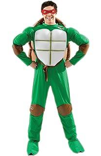 Multicolore Costume da Tartaruga Ninja Donatello Rubies CS928872 M Taglia Unica