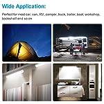 Interior Lights Lamp Strip Bar Universal for Car Camper Van Bus Caravan Boat Motorhome Kitchen Bathroom 340MM (72 LEDs…