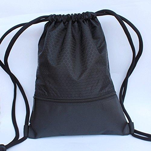 Mefly Outdoor Reisetasche Rucksack Männlichen und Weiblichen Sport Körper-gebäude Tasche Black trumpet