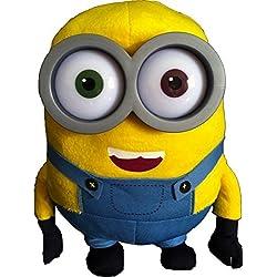 Whitehouse Leisure Peluche Bob le Minion du film Moi, moche et méchant2 avec yeux en plastique, 26cm