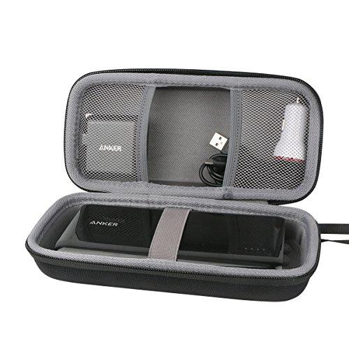 Hart Reise Schutz Hülle Etui Tasche für Anker PowerCore+ 26800mAh Premium Aluminium Powerbank Externer Akku von co2CREA