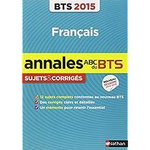 Français BTS : Sujets & corrigés