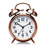 Best Vintage Alarm Clocks - DreamSky Battery Alarm Clock with Backlight, Loud Alarm Review