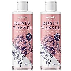 Reines Rosenwasser