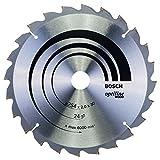Bosch 2 608 640 434  - Hoja de sierra circular Optiline Wood - 254 x 30 x 2,0 mm, 24 (pack de 1)