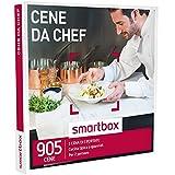 smartbox - Cofanetto Regalo - CENE da Chef - 905 cene di 3 portate: Cucina Gourmet o Tradizionale