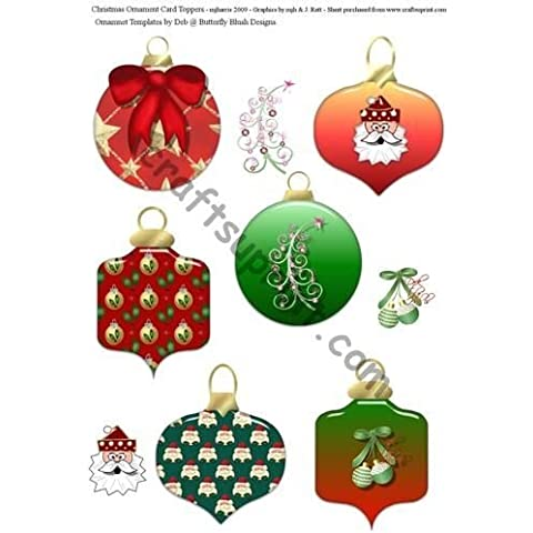 Ornamento de la Navidad primeros de la tarjeta por Mary Jane Harris