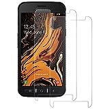 DASFOND Panzerglas Schutzfolie für Samsung Galaxy Xcover 4s [2 Stück], 9H Härte, HD Panzerglasfolie, Kratzfest, Anti-Bläschen Und Fingerabdruck, Displayschutz Folie für Samsung Xcover 4s