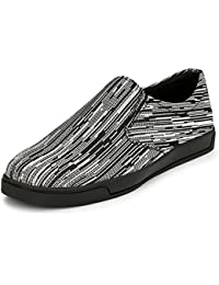 Afrojack Men's Reaction Canvas Slip On Sneakers