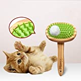 Cutepet Pet Grooming Brush Deshedding Tool Dog Brush Grooming 2 In 1 Grooming Kit Reduces Shedding More Than A Brush AM-1093