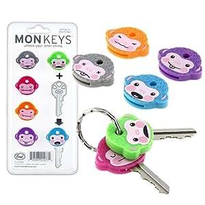 Monkeys Schlüsselkappen Set Affen