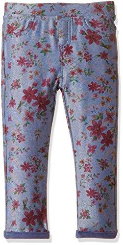 Fox Baby Girls' Trousers (612745111312_Sky Denim_12)