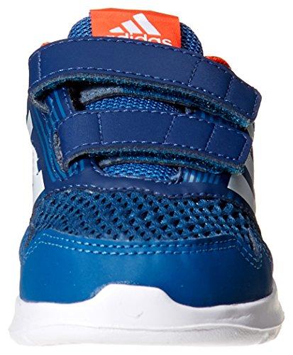 adidas Altarun CF I, Chaussures de Gymnastique Mixte enfant, Gris Bleu