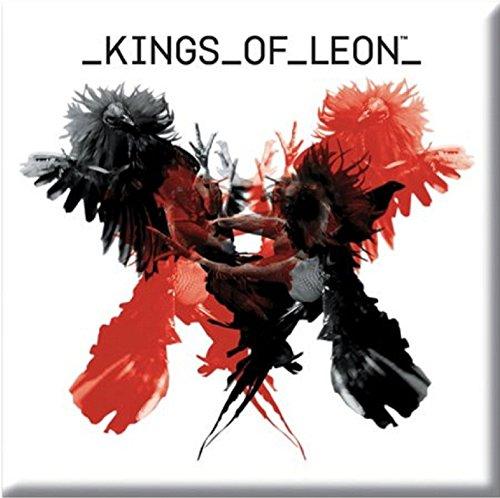 Kings Of Leon Kühlschrankmagnet uns Album Cover Offizielles 76mm x 76mm (Kühlschrank Vinyl Cover)