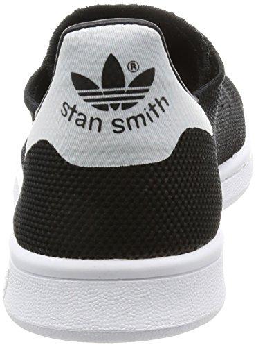 adidas Herren Stan Smith Tennisschuhe Schwarz (Cblack/Cblack/Ftwwht)