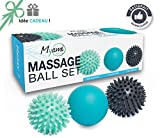 RELAX A unique set of 3 different massage balls – Reflexology Trigger points - Helps relieve tension and stress Perfect for massaging feet, shoulders, arms and the back // An original Zen Gift idea