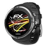 atFoliX Folie für Suunto Spartan Ultra/Sport Displayschutzfolie - 3 x FX-Antireflex-HD hochauflösende entspiegelnde Schutzfolie