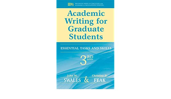 Buy academic writing for graduate students essential tasks and buy academic writing for graduate students essential tasks and skills michigan series in english for academic professional purposes book online at low fandeluxe Gallery